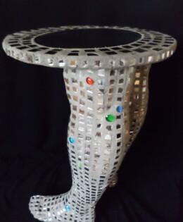Mirrored Decorative Table – £400