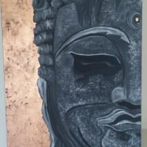 Buddha Head Original Painting – POA