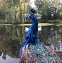 Peacock Sculpture – POA